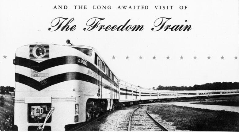photo of 'Freedom Train'!