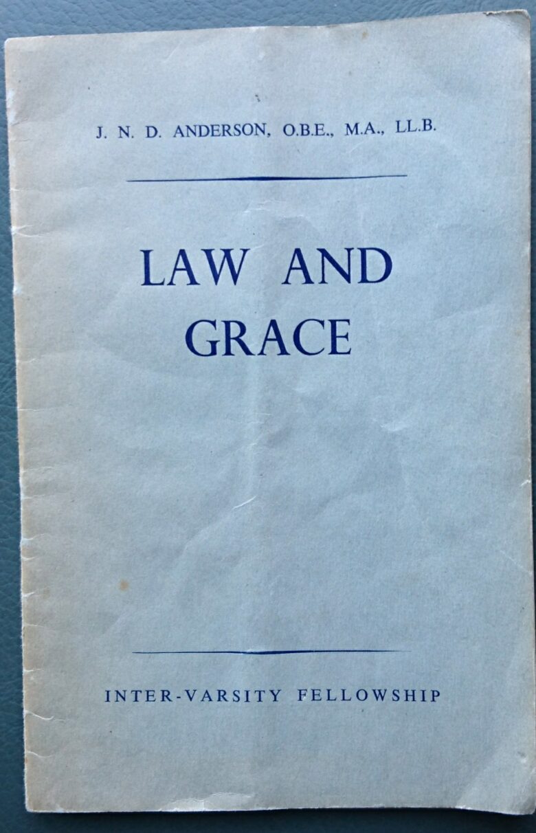 front cover 'Law and Grace'