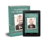 3D image of book and kindle